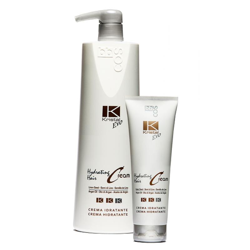 Увлажняющий Крем для Волос-BBCOS Kristal Evo