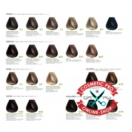 Безаммиачная краска для волос с кератином-BBCOS Keratin Color