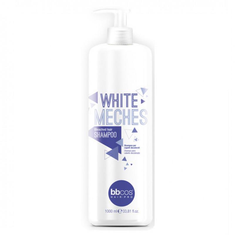Шампунь для обесцвеченных волос BBCOS White Meches Shampoo