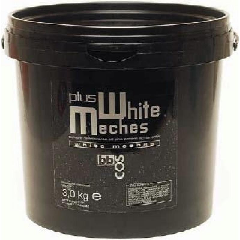 Осветляющая пудра для волос (банка) BBCOS White Meches 3kg