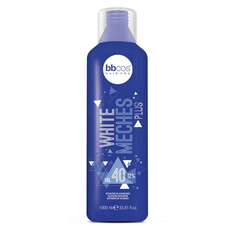 Окислитель для осветления с фиолетовым пигментом-BBCOS White Meches 6%,9%,12%