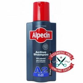Шампунь для жирной кожи головы и волос Alpecin A2