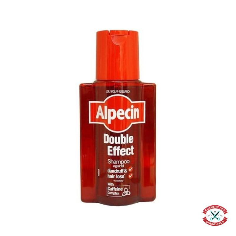 Шампунь Дабл-Еффект против перхоти и выпадения волос-Alpecin