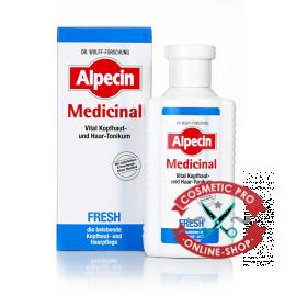 Витализирующий тоник для кожи головы и волос-Alpecin Med FRESH