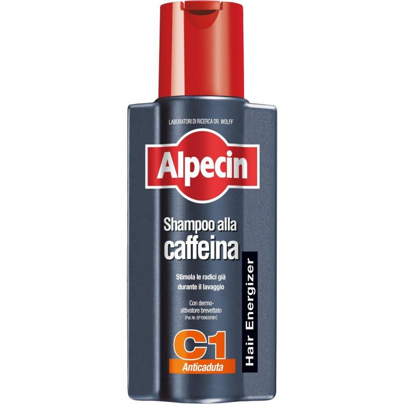 Шампунь с кофеином против выпадения волос-Alpecin C1