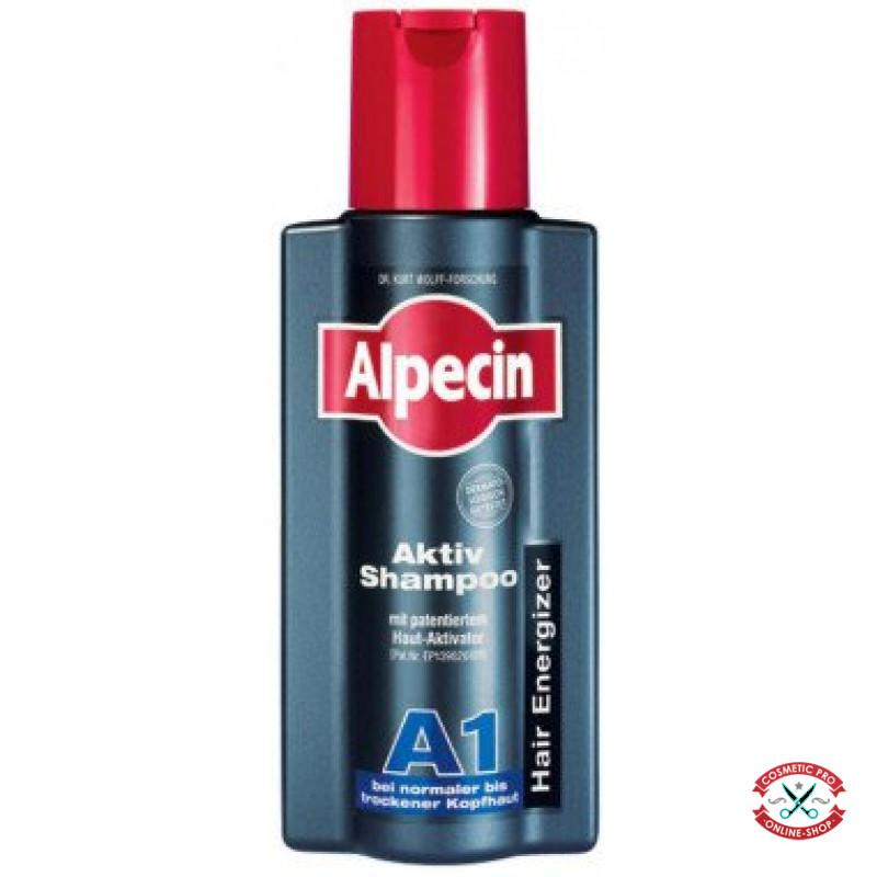 Шампунь для нормальной и сухой кожи головы и волос-Alpecin A1