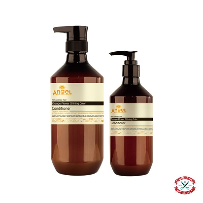 Кондиционер для окрашенных волос «Сияющий цвет» с цветком апельсина Angel Provence
