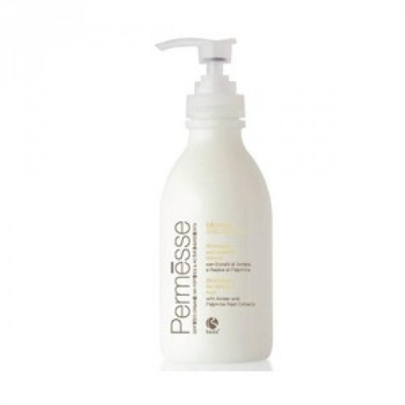 Barex Permesse-Шампунь для осветленных волос с пептидами М4, экстрактами янтаря и корня полимнии 1000ml