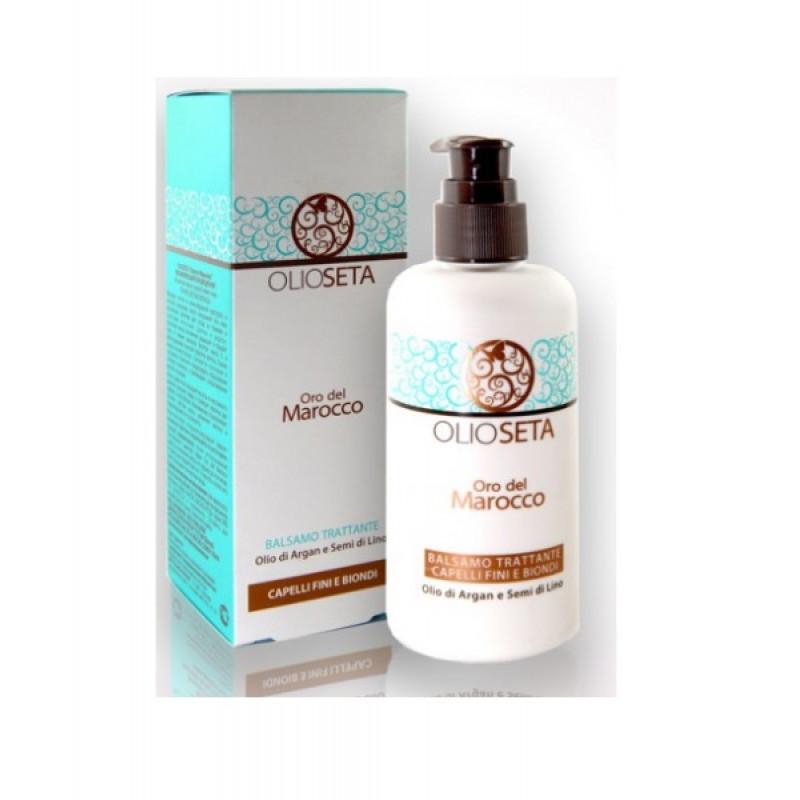 Barex ORO DEL MAROCCO-Увлажняющий кондиционер с маслом арганы и маслом семян льна