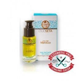Barex ORO DEL MAROCCO-Масло-уход для волос с аргановым маслом и маслом семян льна