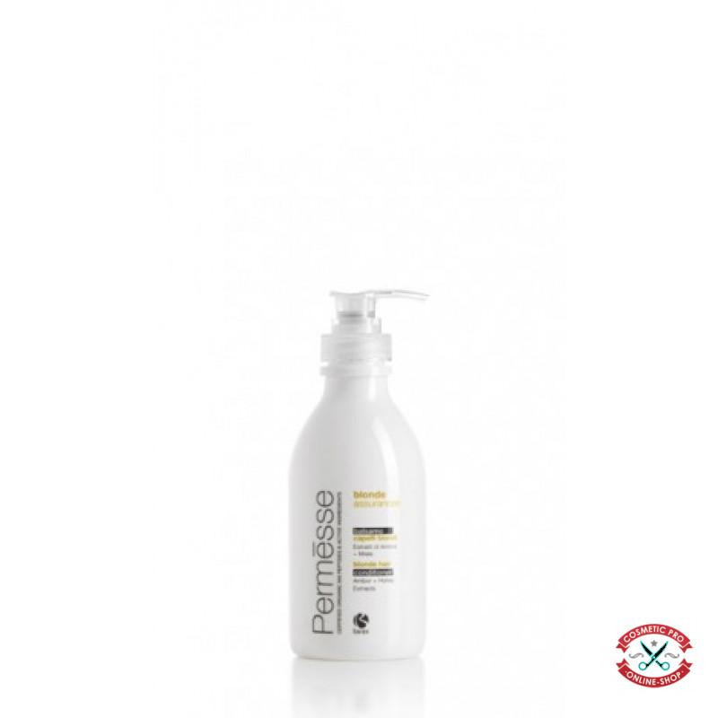 Barex Permesse-Бальзам-кондиционер для осветленных волос с пептидами М4, экстрактом янтаря и медом 1000ml