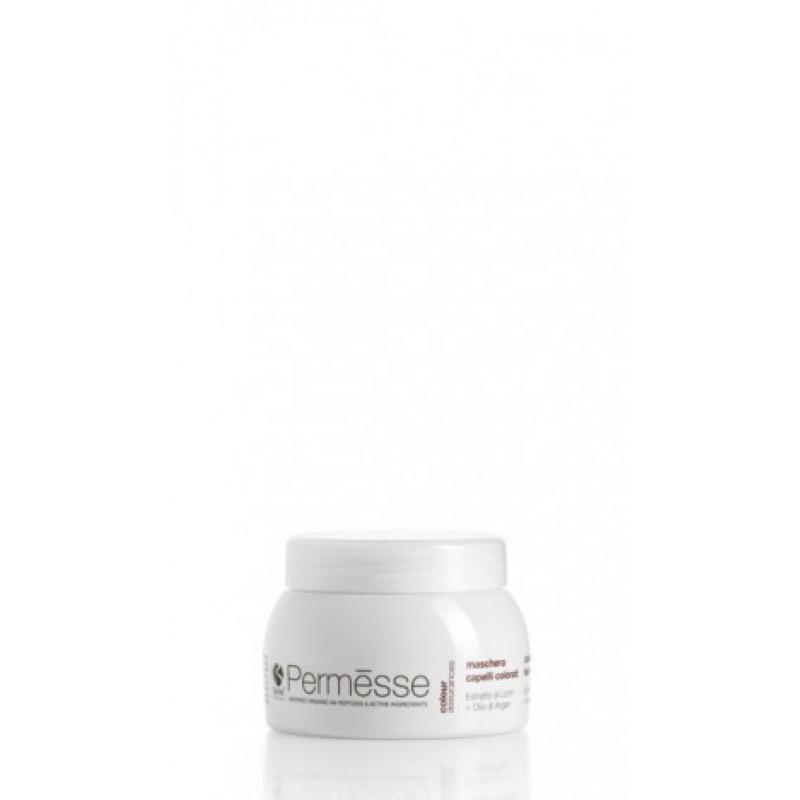Barex Permesse-Маска для окрашенных волос с пептидами М4, экстрактом личи и маслом арганы 1000ml