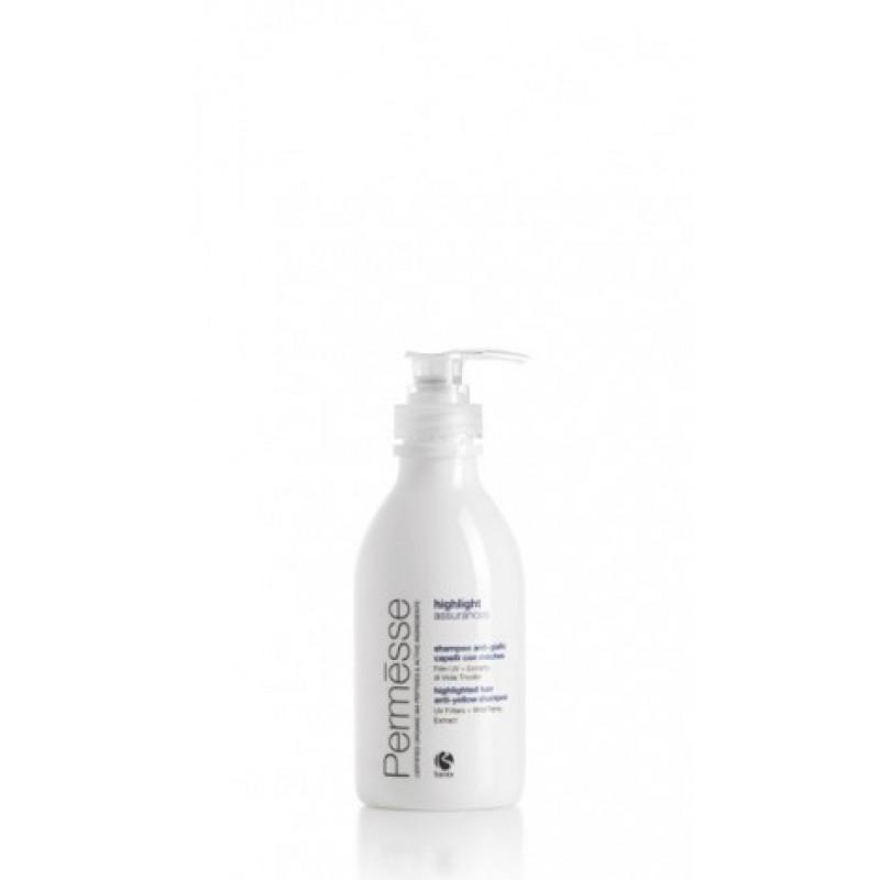 Barex Permesse-Шампунь против желтого оттенка с УФ фильтром и экстрактом фиалки