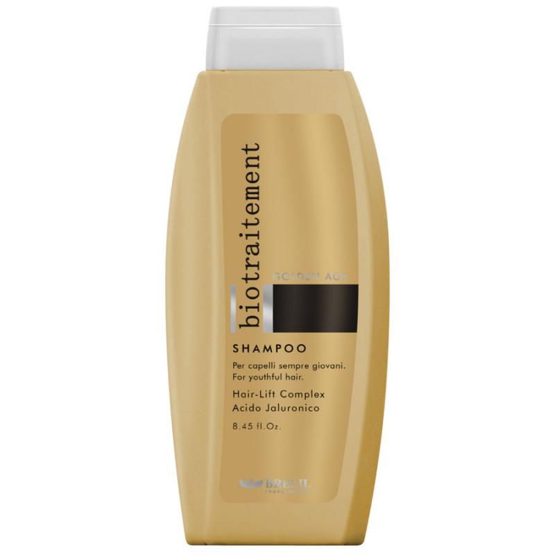 Шампунь для волос против старения кожи-Brelil Bio Traitment