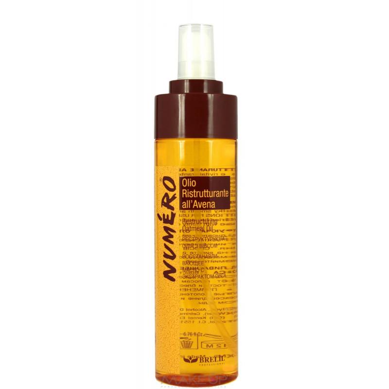 Восстанавливающее масло с экстрактом овса-Brelil Numero