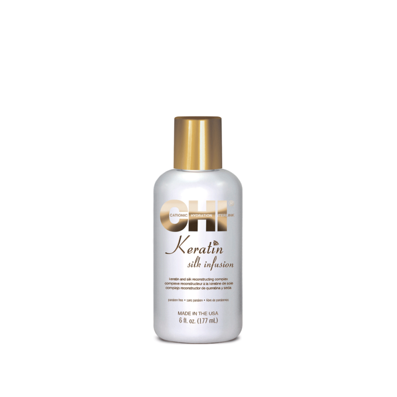Жидкий шелк кератин-CHI Keratin Silk Infusion 177ml
