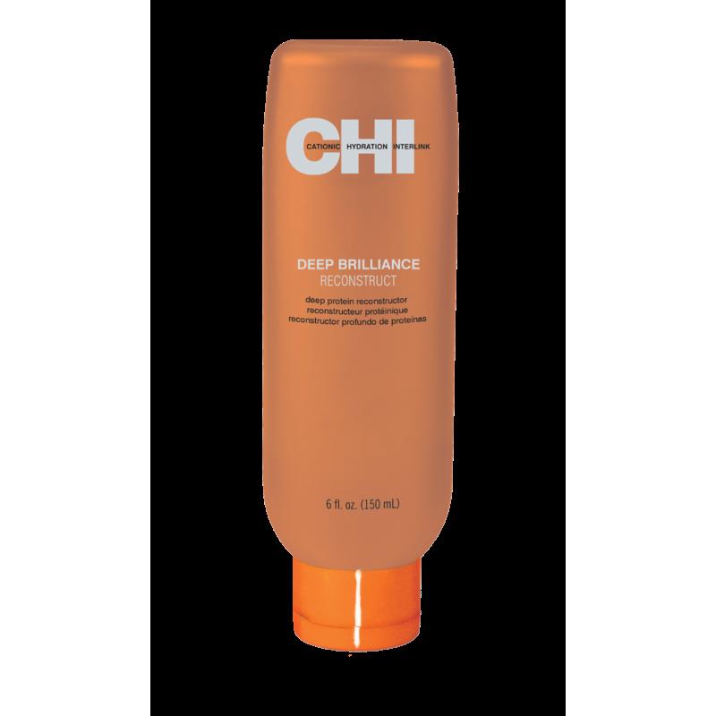 Протеиновая маска для восстановления волос-CHI Deep Brilliance Reconstruct