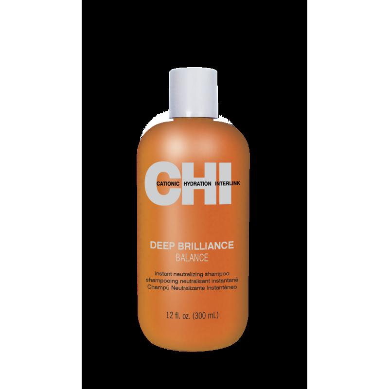 Нейтрализующий шампунь для глубокого очищения-CHI Deep Brilliance Balance Shampoo