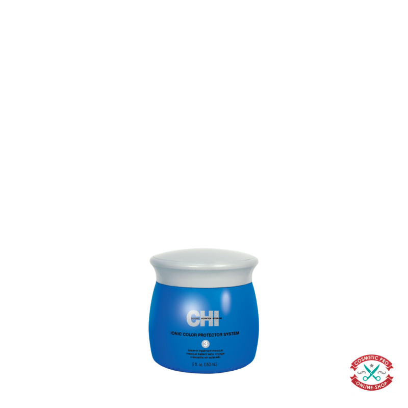 Несмываемая лечебная маска для окрашенных волос-CHI Ionic Color Protector Leave-In Treatment Masque