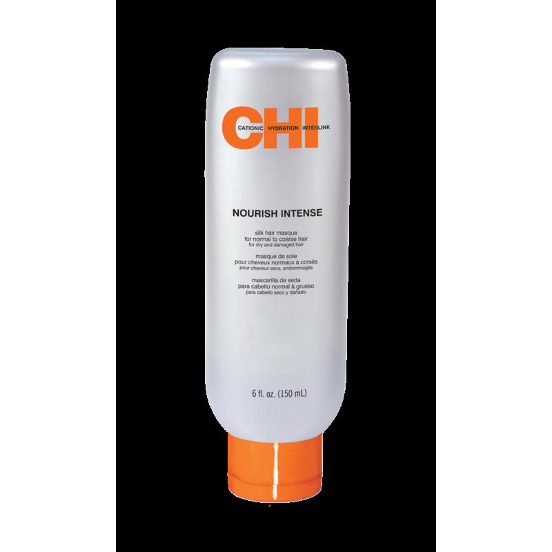 Интенсивная питательная маска для толстых и жестких волос-CHI Nourish Intense Silk Hair Masque for Normal to Coarse Hair