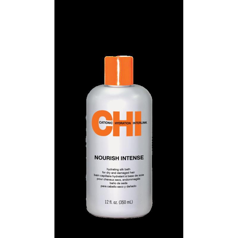 Шампунь для сухих и поврежденных волос-CHI Nourish Intense Hydrating Silk Bath
