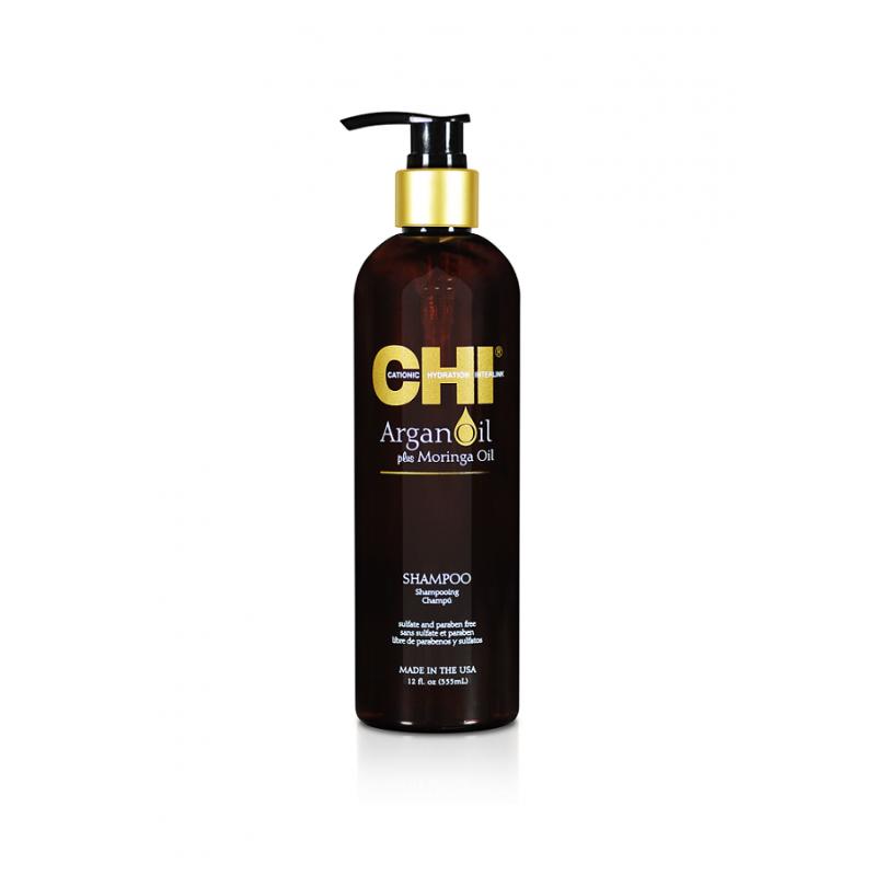 Восстанавливающий шампунь-CHI Argan Oil Shampoo