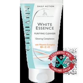 Очищающее средство cияющий цвет лица с комплексом витаминов В3+С+Е- CLINIANS WHITE ESSENCE
