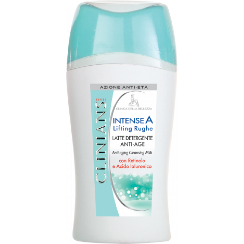 Антивозрастное очищающее молочко с ретинолом и гиалуроновой кислотой- INTENSE A LIFTING RUGHE