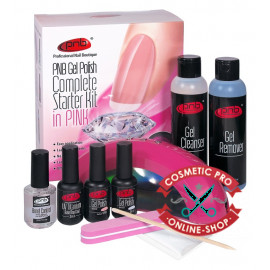 PNB Complete Gel Polish Starter Kit in Pink