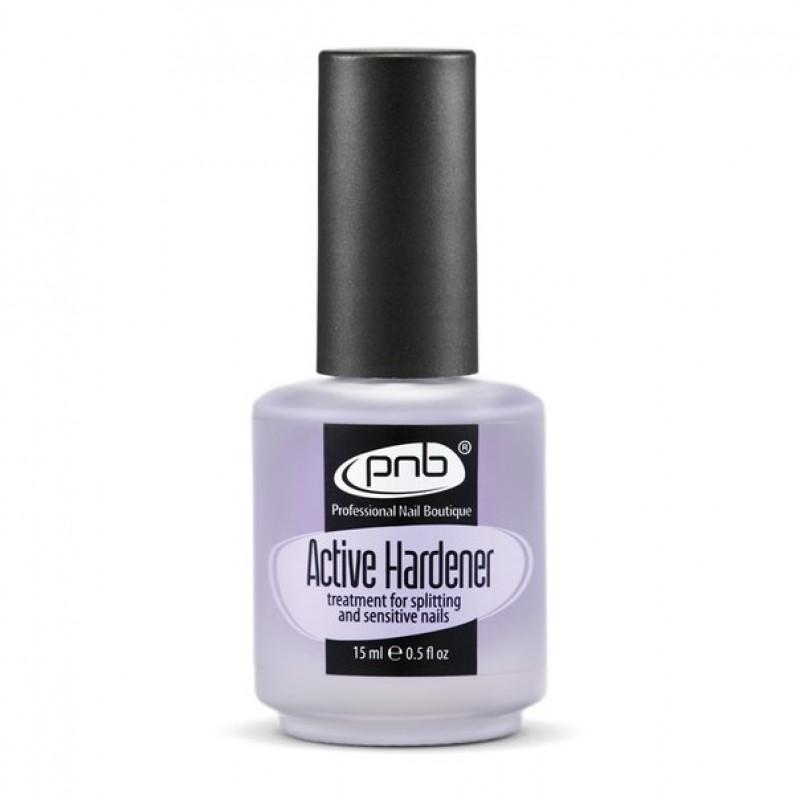 PNB Active Hardener- cредство для укрепления ломких и слоящихся ногтей