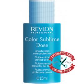 Жидкий крем для защиты цвета - Revlon Professional Interactives Color Sublime Dose