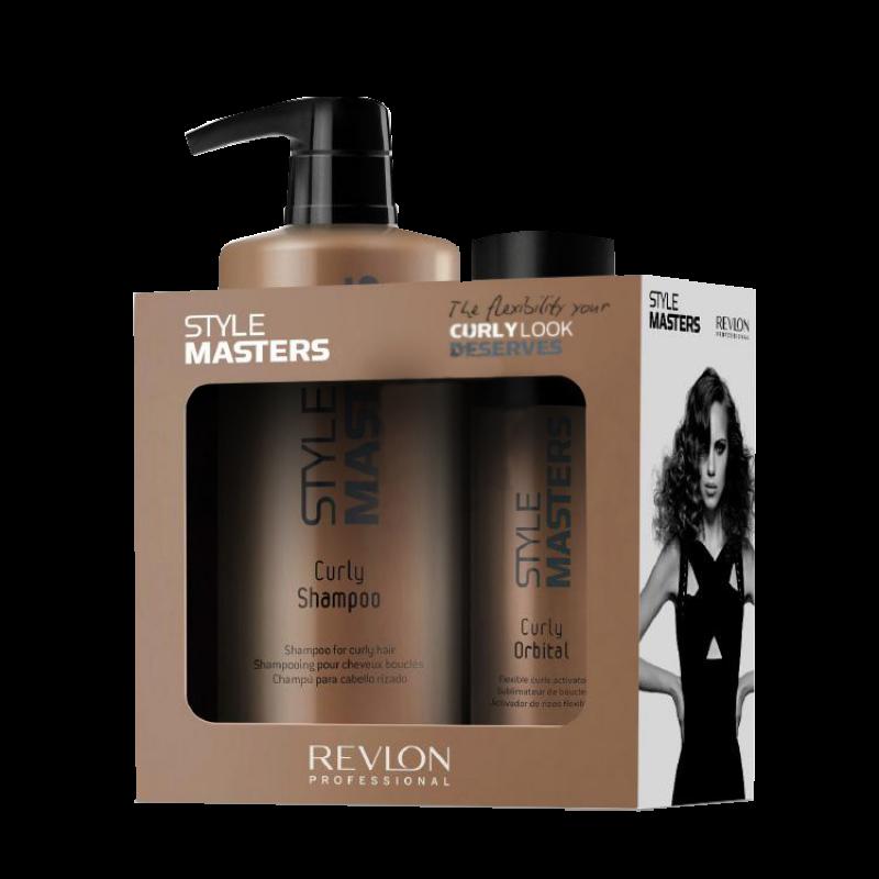 Набор для вьющихся волос-Revlon professional STYLE MASTERS CURLY DUO PACK