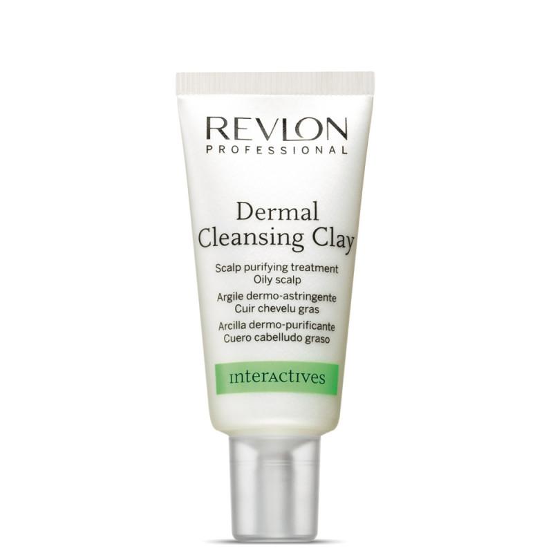 Глина очищающая, для кожи головы Revlon Professional Interactives Dermal Cleansing Clay 15*18ml