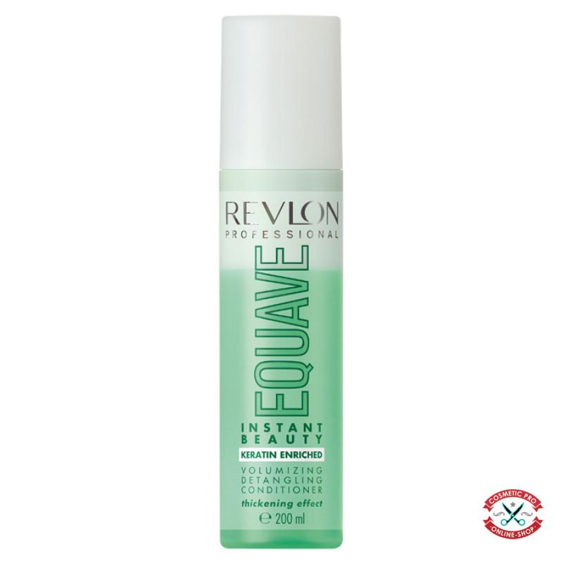Кондиционер для объема волос кератином Revlon Professional Equave Volumizing Detangling Conditioner
