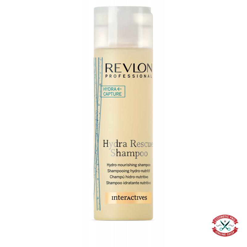 Шампунь для сухих и поврежденных волос Revlon Professional Interactives Hydra Rescue Shampoo