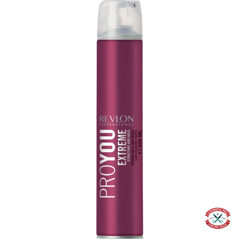 Лак сильной фиксации волос Revlon Professional Pro You Extra Strong Hairspray Extreme