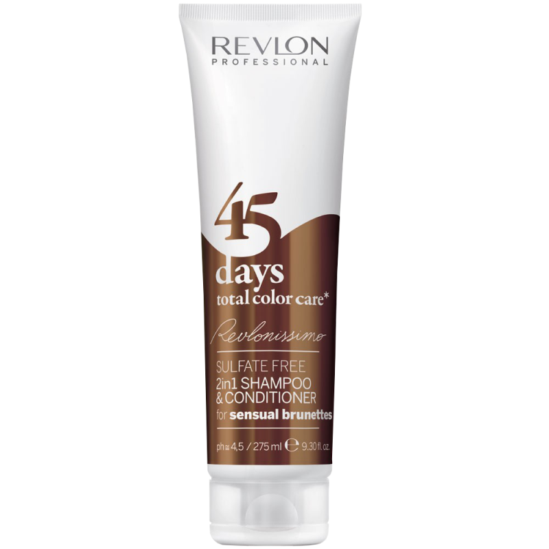 Шампунь-кондиционер чувствительная брюнетка -REVLONISSIMO 45 DAYS SENSUAL BRUNETTES 2in1