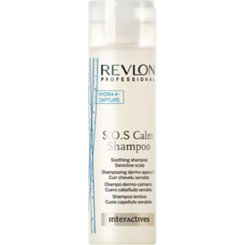 Шампунь нежный и успокаивающий - Revlon Professional Interactives S.O.S. Calm Shampoo