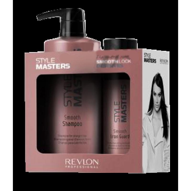 Набор для волос разглаживающий-Revlon Professional STYLE MASTERS SMOOTH DUO PACK