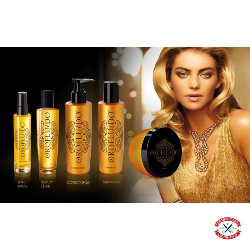 Эликсир красоты для волос-Orofluido Liquid Gold Beauty Elixir 50ml