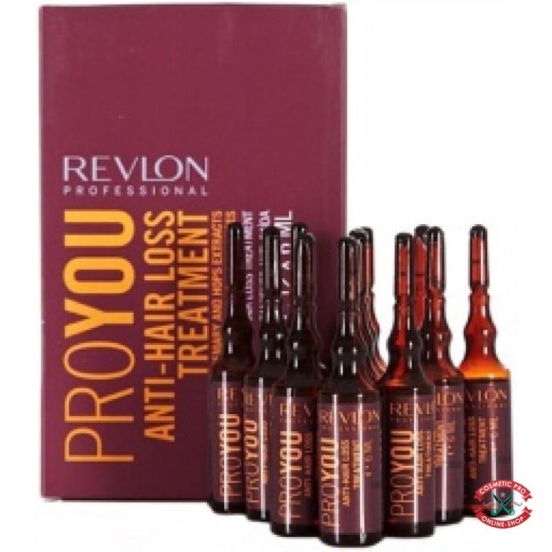 Ампулы против выпадения волос Revlon Professional Pro You Anti-Hair Loss Treatment