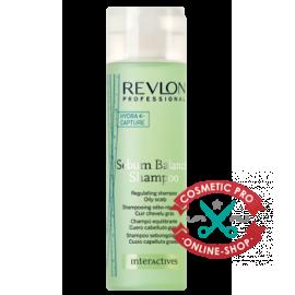 Шампунь для жирной кожи головы Revlon Professional Interactives Sebum Balance Shampoo