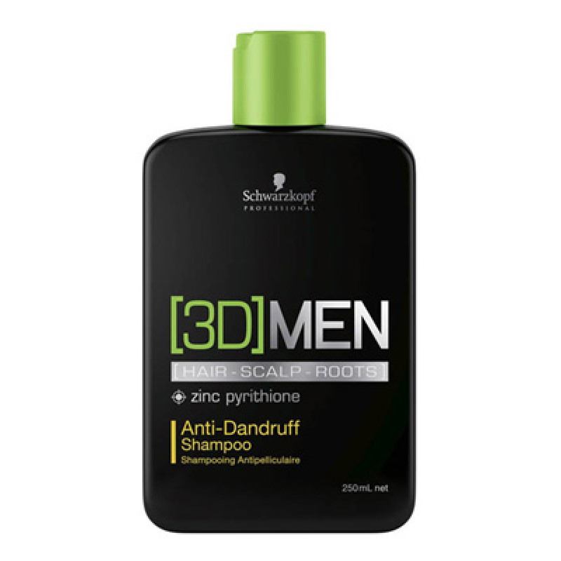 Шампунь против перхоти-Schwarzkopf Professional 3D Mension Anti-Dandruff Shampoo