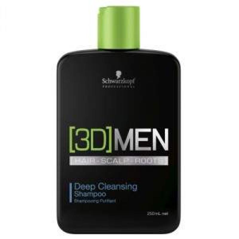 Шампунь для глубокого очищения-Schwarzkopf Professional 3D Mension Deep Cleansing Shampoo