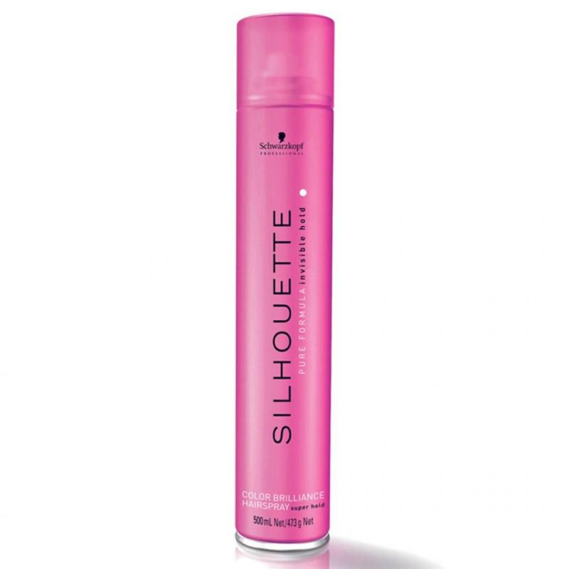 Лак для окрашенных волос-Schwarzkopf Professional Silhouette Color Brilliance Hairspray